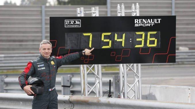 Laurent Hurgon Pilote Renault Sport Megane RS