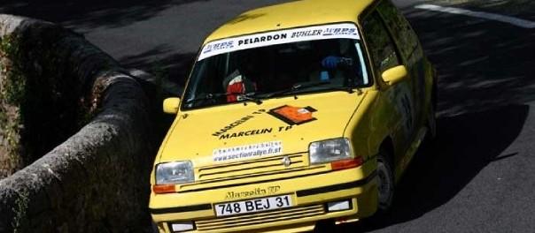 Renault 5 GT Turbo au rallye des Camisards 2004