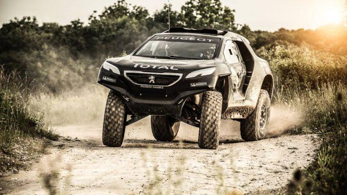 Peugeot 2008 DKR en glisse