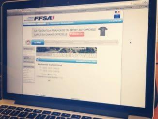 planification et calendrier, à partir d'un Mac avec site internet FFSA