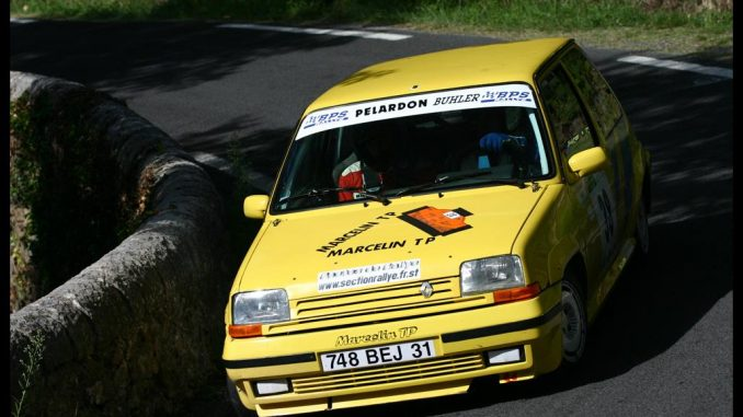 Renault 5 GT Turbo groupe N jaune