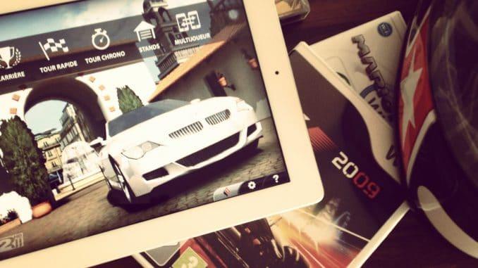 simulation de pilotage real racing 2 HD