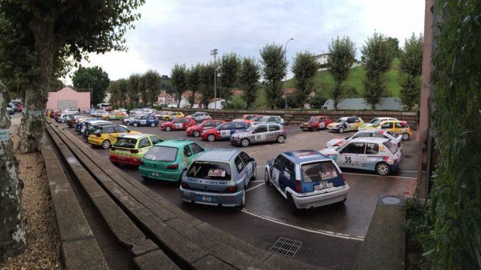 Parc fermé Rallye du Pays Basque