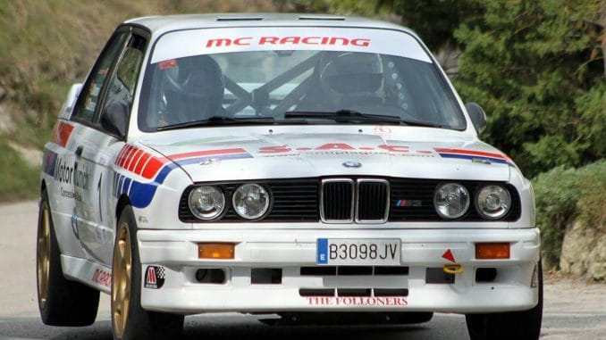 BMW M3 Rallye du Pays Basque 2014 : Xavier Domenech
