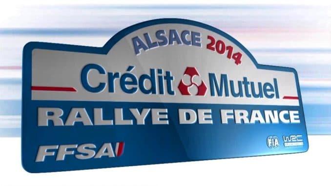 Plaque Rallye France 2014