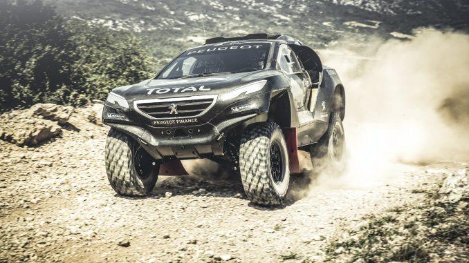 Peugeot 2008 DKR en test