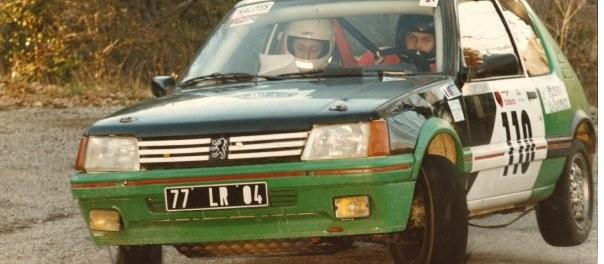 205 GTI Rallye de Vaison 1995