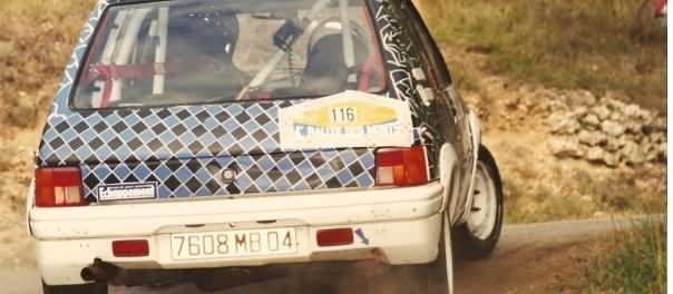 205 Rallye N1 des débuts