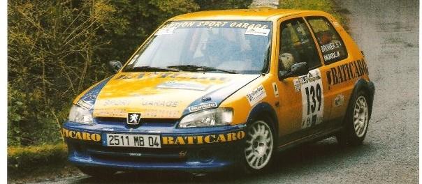 106 Rallye à la Finale des Rallyes à Limoges en 2003