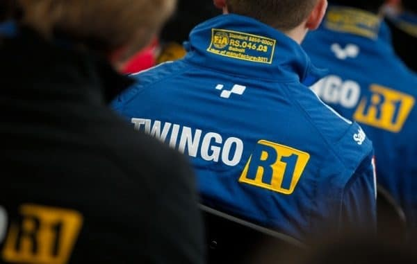 Brunier en Twingo R1 au Rallye Monté Carlo 2015