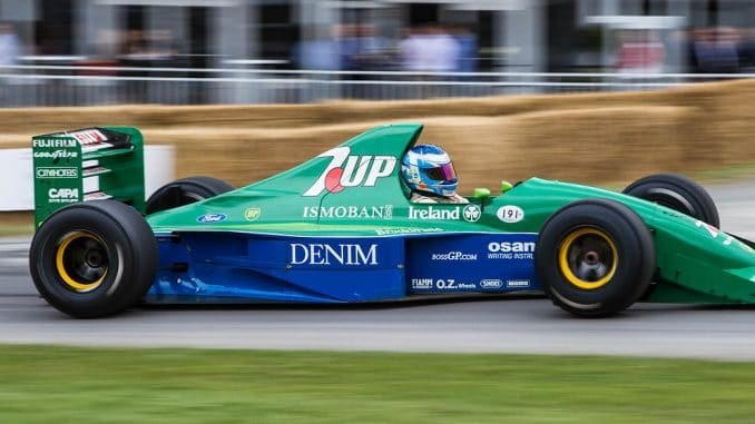Jordan 191. Goodwood 20014