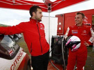 Citroën Racing Experience. Cédric Mazenq (ingénieur) et Stéphane Lefebvre (pilote)