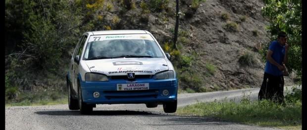 Stéphane Brunier et sa Peugeot 106 S16 Groupe N volante