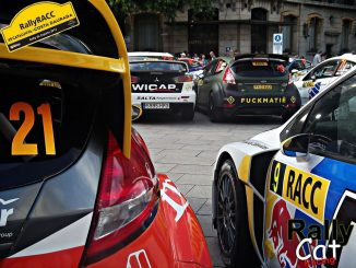 Rallye d'Espagne : parc.