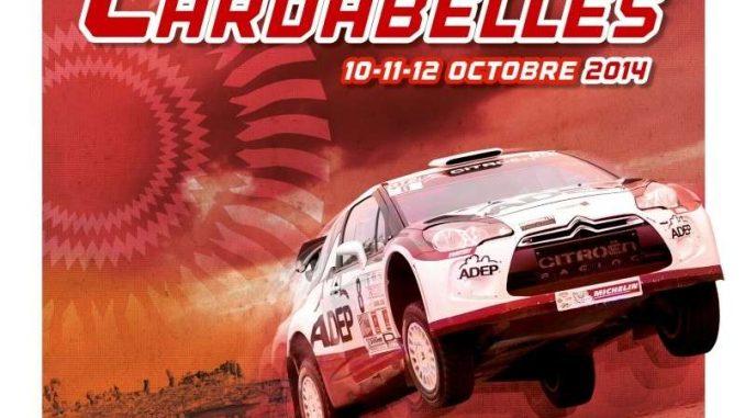 Affiche du rallye Terre des Cardabelles 2014