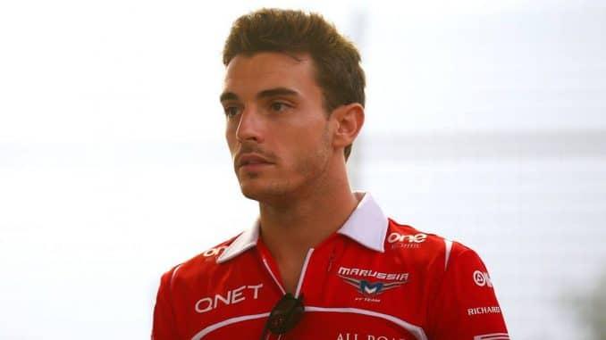 Jules Bianchi Rapatrié en France