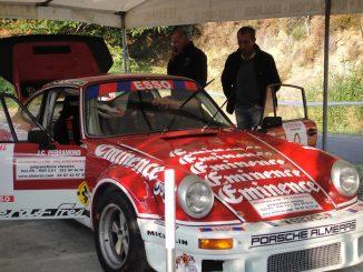 Jean-François Mourgues et sa Porsche 3.0 RS Groupe 4.