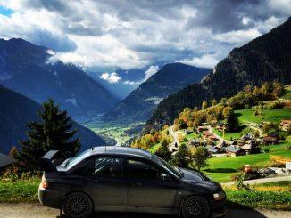 Taxes sur les voitures sportives en 2018 - Rallye du Valais 2014 : paysage de carte postale
