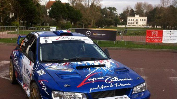 Subrau WRC S5 utilisée par Marc et Cyril lors du Rallye du Touquet 2014 (Championnat de France)
