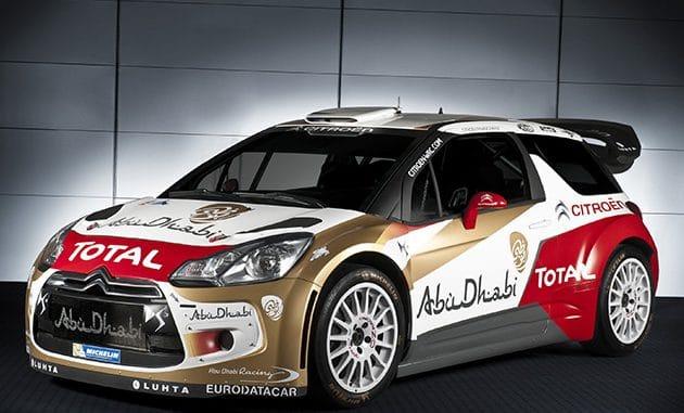 DS3 WRC 2015 - Essai pré Monte-Carlo 2015