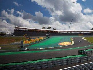 GP F1 brésil 2014, Victoire de Nico Rosberg devant Lewis Hamilton