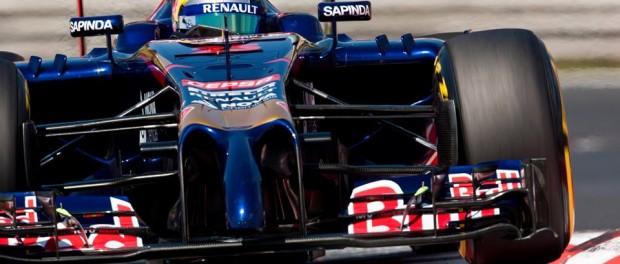 Jean Eric Vergne Toro Rosso