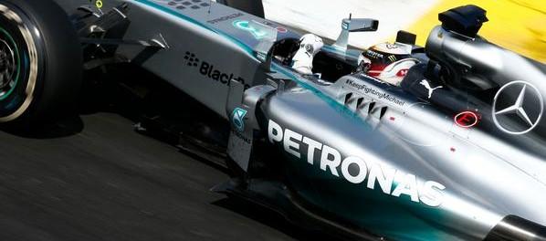 Nico Rosberg victorieux du GP de F1 du Brésil 2014