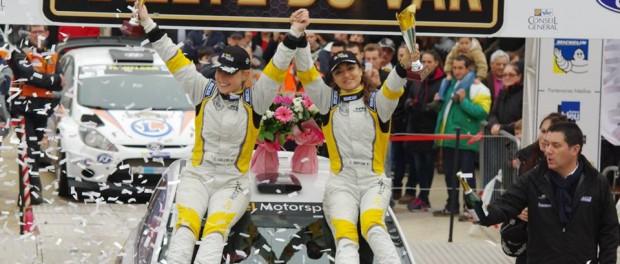 Rammye du Var 2014 : podium. Charlotte Berton.