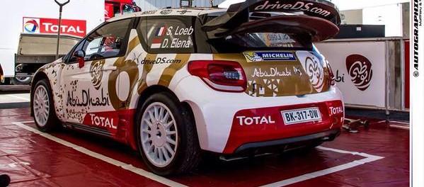 DS3 Loeb service park Monte Carlo 2015