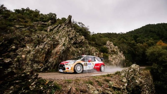 Rallye du Var 2014 avec la Citroën DS3 WRC de Sébastien Loeb