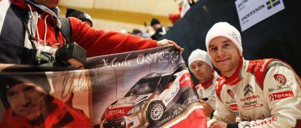 Mads Ostberg - Andersson. Crédit : Citroën Racing.