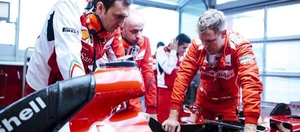 Sebastian Vettel et sa nouvelle équipe Ferrari
