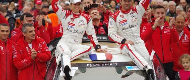 Rallye du Var 2014 : podium avec Sévertine et Sébastien Loeb