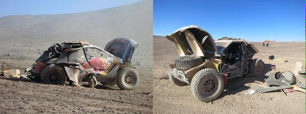 Dakar 2015 Etape 5 : Carlos Sainz et 2008 DKR
