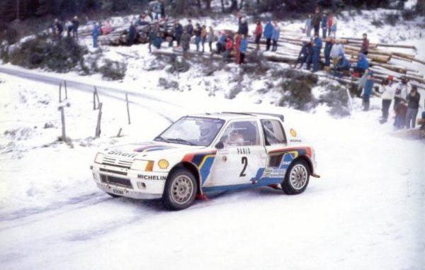 Rallye Monte Carlo 1985 Peugeot 205 T16