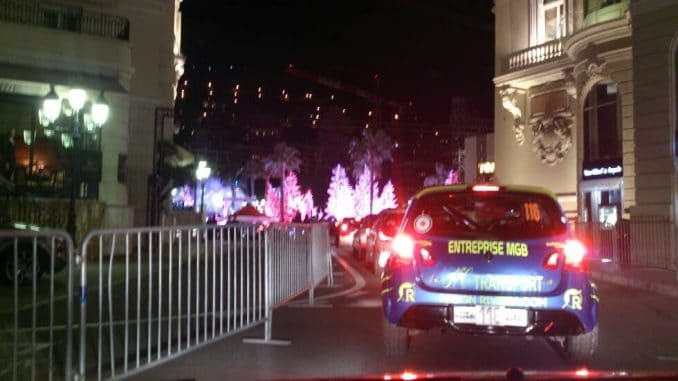 Départ de Monaco avec Stéphane Brunier