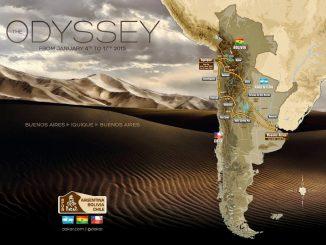 Dakar 2015 parcours