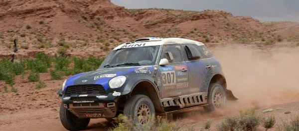 Krzysztof Holowczyc Mini All4 Racing