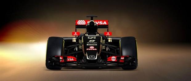 Lotus E23 F1 2015 face