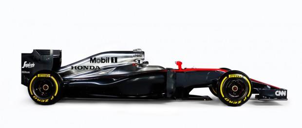 McLaren Mp4-30 profil