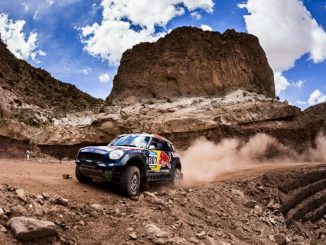 Dakar 2015 étape 11 : Nasser Al-Attiyah et Matthieu Baumel