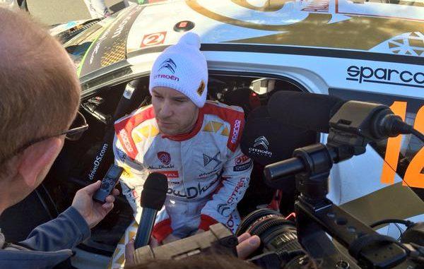 Mads Ostberg, 4ème sur DS3 WRC Monte-Carlo 2015