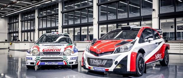 Toyota Yaris et Corolla