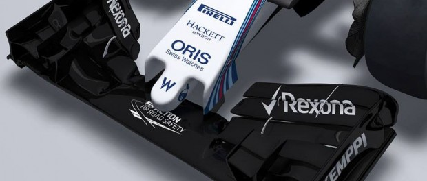 Williams FW37 2015 aileron