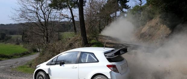 Yaris WRC TMG essais