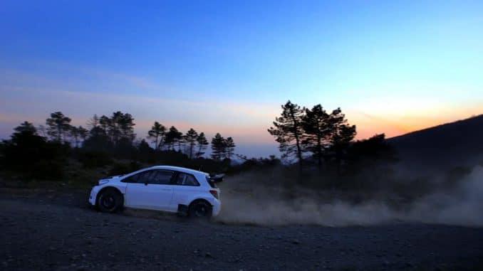 Toyota retour en rallye