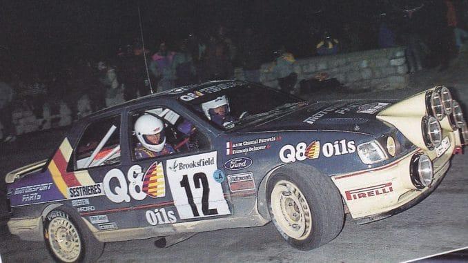 rallye monte carlo 1991 Delecour