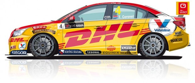 Tom Coronel - Chevrolet Cruze TC1 WTCC 2015