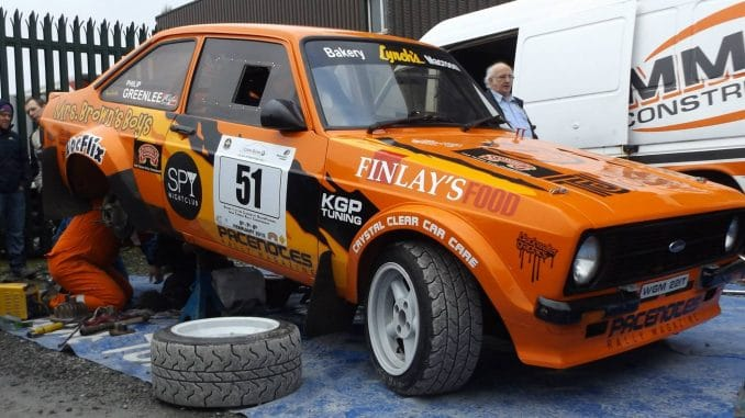 Philip Greenlee Ford Escort Mk 2