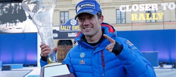 Ogier vainqueur du Rallye de Suède 2015